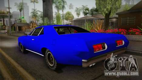 Bestia 1971 from Midnight Club 2 for GTA San Andreas left view