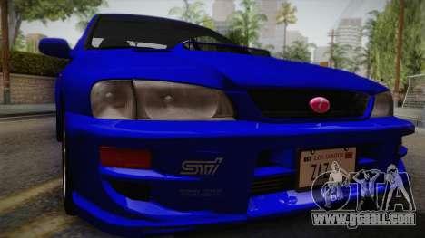 Subaru Impreza WRX STI GC8 1999 v1.0 for GTA San Andreas right view