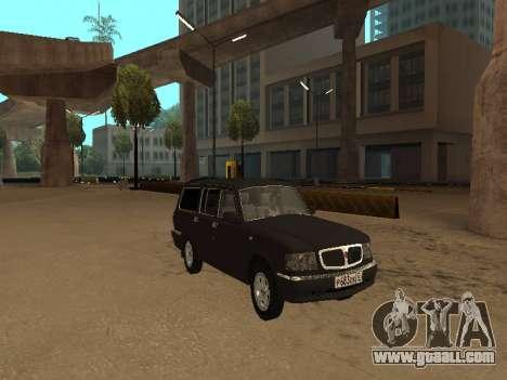 GAZ 310221 for GTA San Andreas