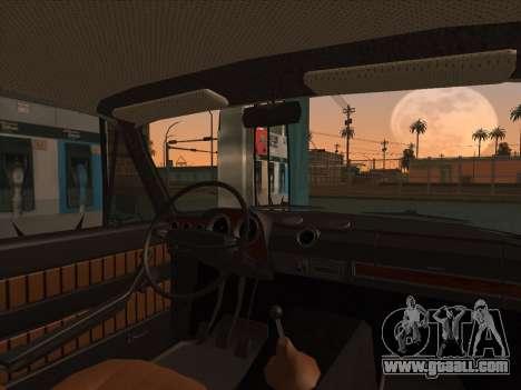 VAZ 2103 Resto for GTA San Andreas back left view