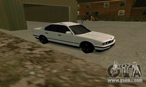 BMW 535i E34G for GTA San Andreas left view