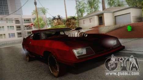 Ford Falcon XB Last V8 Mad Max 2 for GTA San Andreas