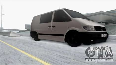 Mercedes-Benz Vito for GTA San Andreas side view