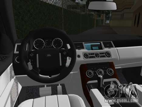 Range Rover Sport HSE (Rims 1) v2.0 for GTA Vice City inner view