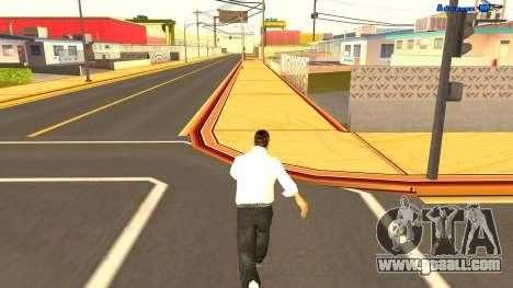 Endless running for GTA San Andreas third screenshot