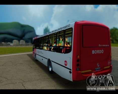 Metalpar Tronador Linea Burgundy GTA Micros Arge for GTA San Andreas left view