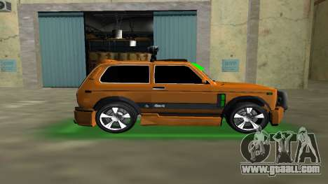 VAZ 21213 NIVA 4x4 Tuning for GTA Vice City left view