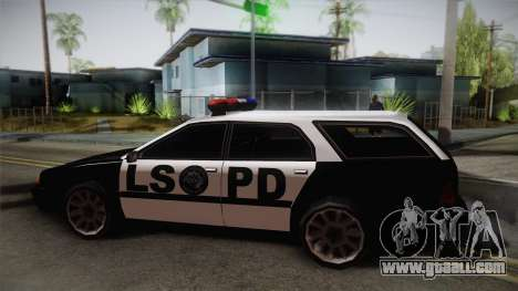 Stratum LSPD for GTA San Andreas back left view