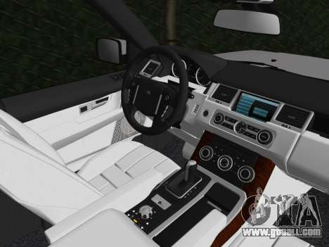 Range Rover Sport HSE (Rims 1) v2.0 for GTA Vice City side view