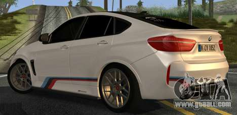 BMW X6M PML ED for GTA San Andreas right view