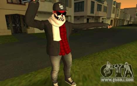 GTA Online Skin for GTA San Andreas third screenshot