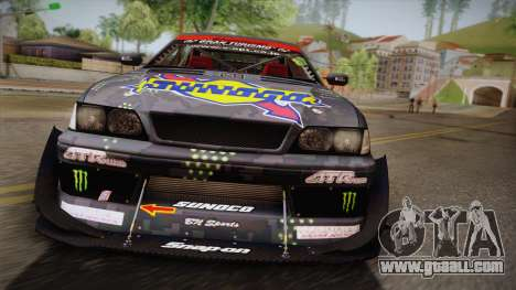 D1GP Toyota Mark II Sunoco Monster for GTA San Andreas right view
