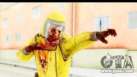 Zombie Radioactivo for GTA San Andreas