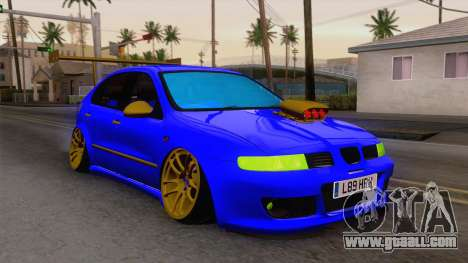 Seat Leon Haur Edition for GTA San Andreas