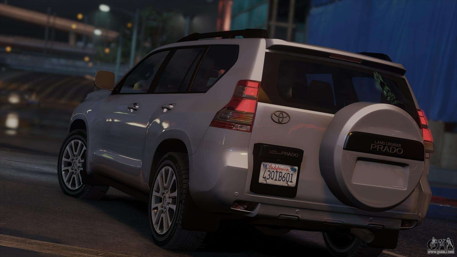 Toyota Land Cruiser Prado 2014 For Gta 5