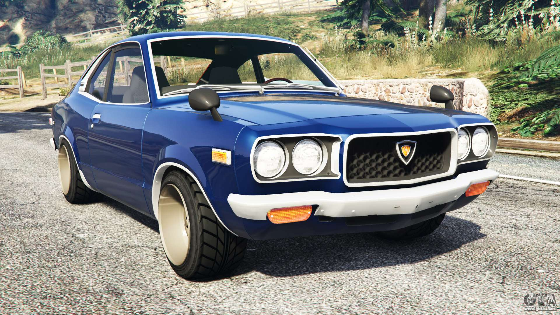 Mazda Rx 3 1973 Replace For Gta 5