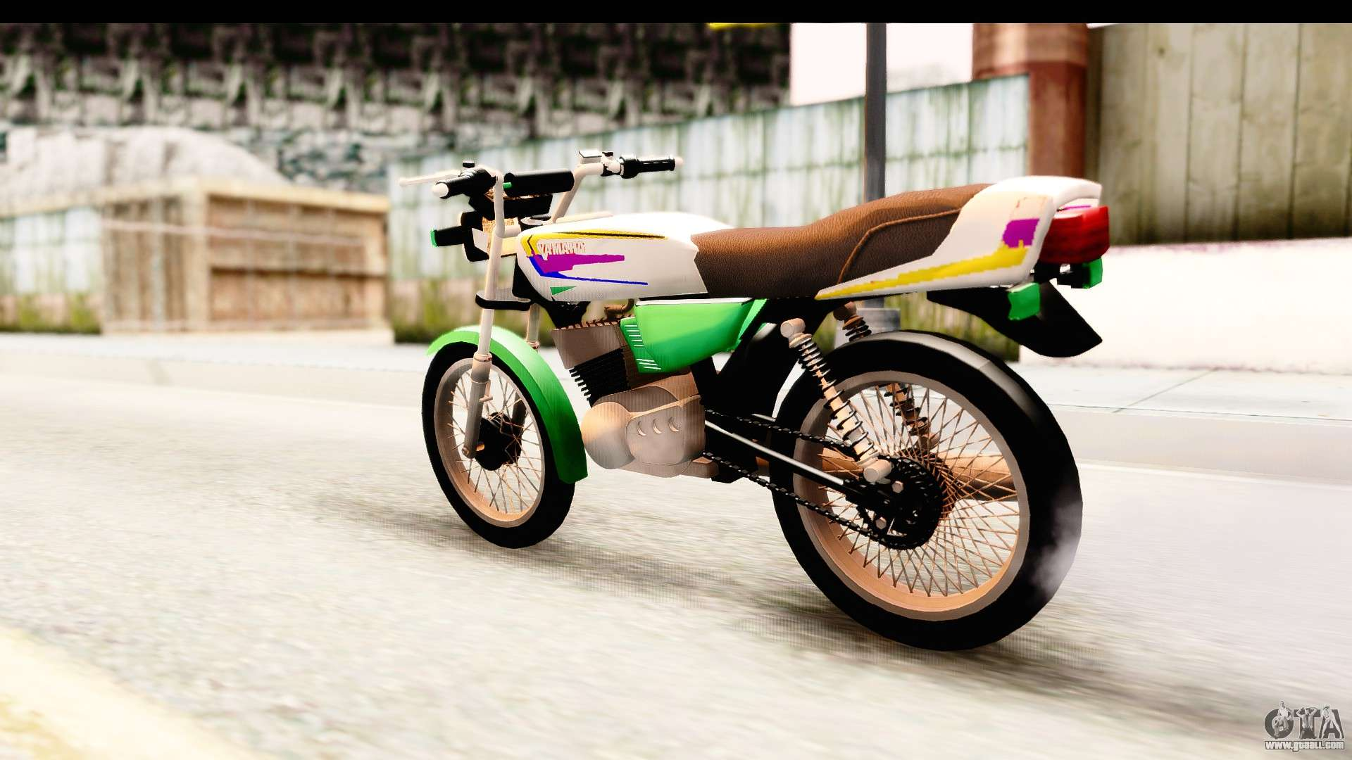 Yamaha rx115 colombia for gta san andreas for Yamaha rx115 motorcycle for sale