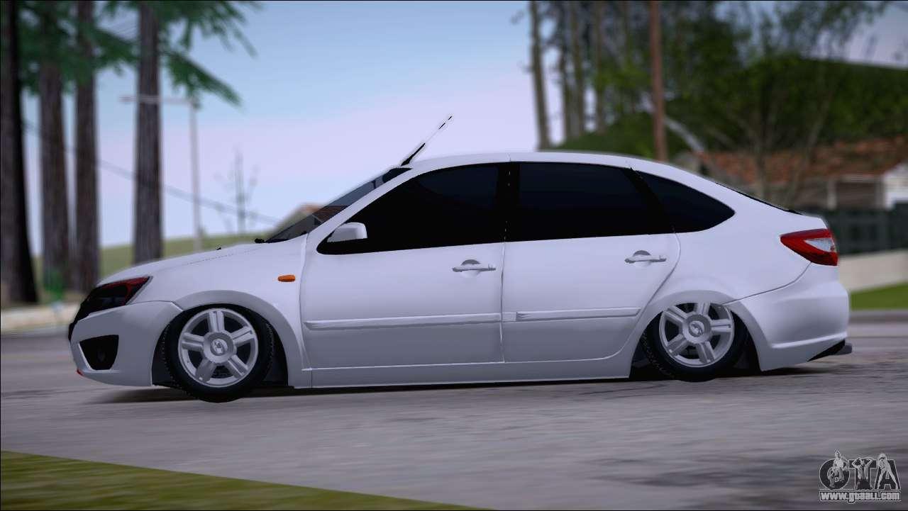 Lada granta liftback for gta san andreas for Lada 09 salon