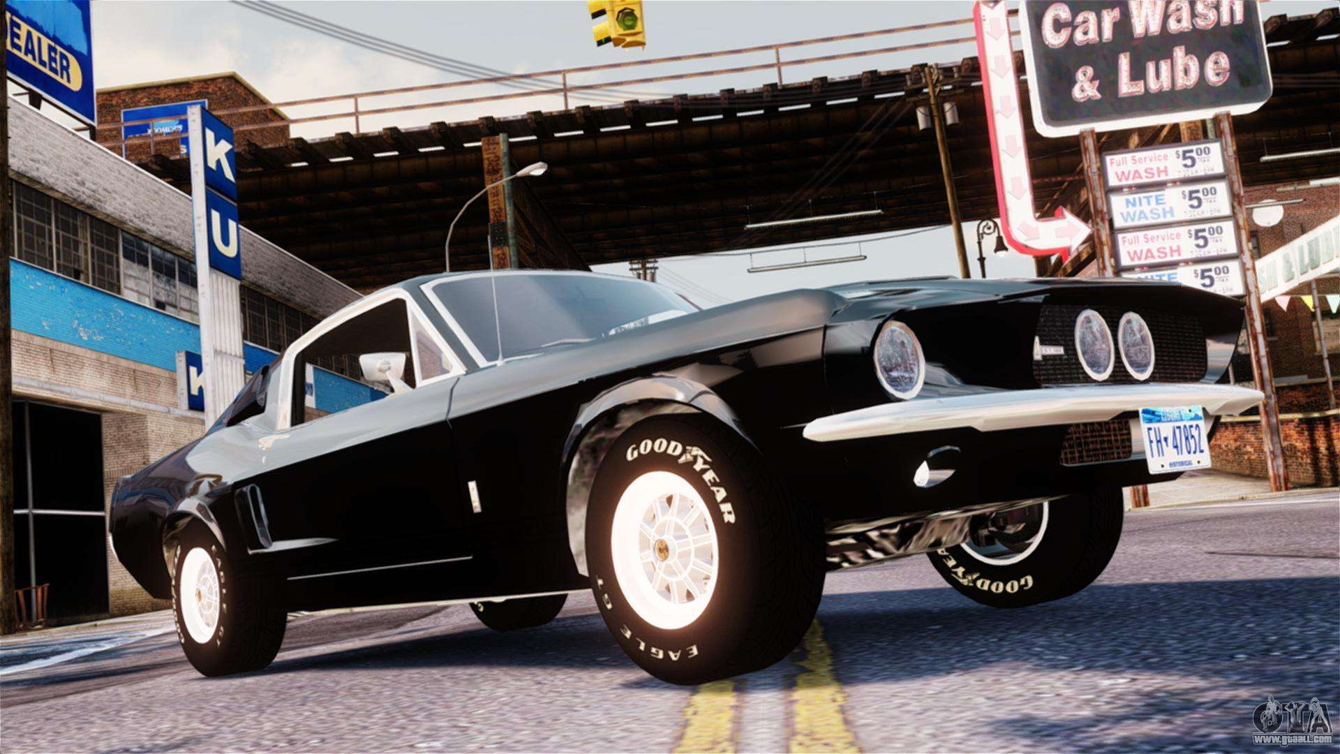Ford Mustang Shelby GT500 1967 for GTA 4