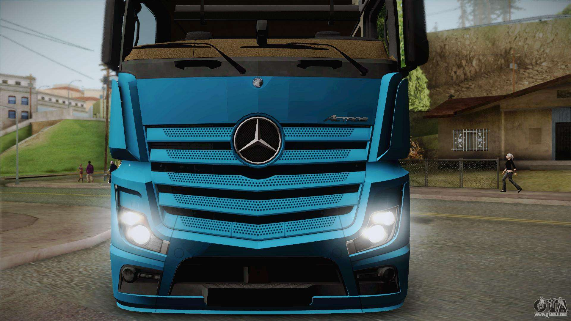 mercedes benz actros mp4 6x4 v2 0 gigaspace v2 for gta san. Black Bedroom Furniture Sets. Home Design Ideas