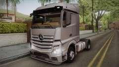 Mercedes-Benz Actros Mp4 4x2 v2.0 Steamspace v2 for GTA San Andreas