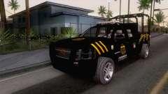 Chevrolet Silverado de la Fuerza Coahuila for GTA San Andreas