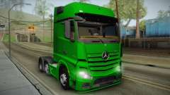 Mercedes-Benz Actros Mp4 6x2 v2.0 Gigaspace v2 for GTA San Andreas