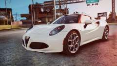 Alfa Romeo 4C 2016 for GTA 4