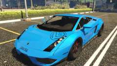 Lamborghini Gallardo Liberty Walk LB Performance for GTA 5