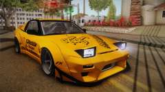Nissan 180SX Rocket Bunny for GTA San Andreas