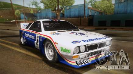 Lancia Rally 037 Stradale (SE037) 1982 HQLM PJ2 for GTA San Andreas