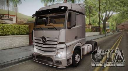 Mercedes-Benz Actros Mp4 4x2 v2.0 Steamspace v2 for GTA San Andreas