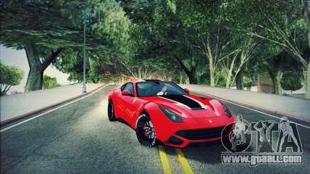 Ferrari F12 Berlinetta for GTA San Andreas