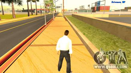 Endless running for GTA San Andreas