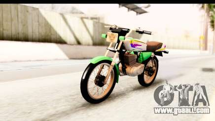 Yamaha RX115 Colombia for GTA San Andreas
