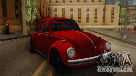 Volkswagen Beetle Escarabajo for GTA San Andreas