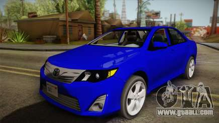 Toyota Camry 2013 for GTA San Andreas