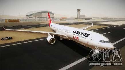 Airbus A330-300 Qantas 80 Years for GTA San Andreas