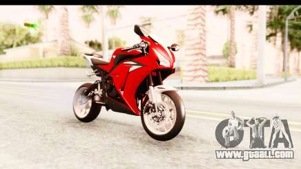 Honda CBR1000RR 2012 for GTA San Andreas