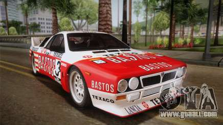Lancia Rally 037 Stradale (SE037) 1982 IVF PJ2 for GTA San Andreas