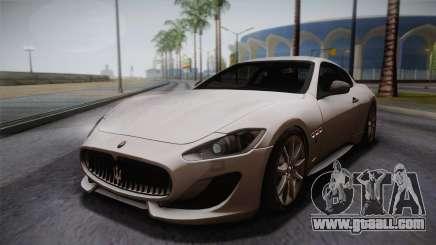 Maserati Gran Turismo Sport for GTA San Andreas
