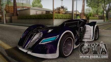 Batman Arkham Asylum Batmobile for GTA San Andreas