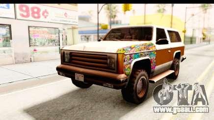 Rancher Sticker Bomb for GTA San Andreas