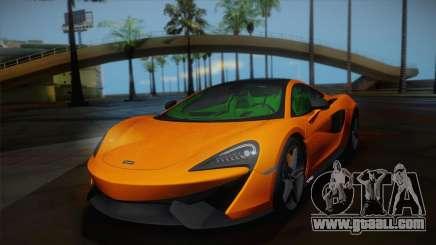 McLaren 570GT 2016 for GTA San Andreas