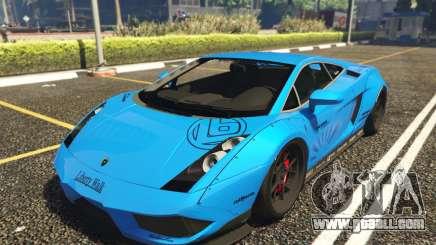 Lamborghini Gallardo Liberty Walk LB Performance for GTA 5