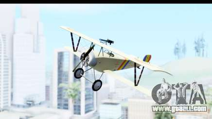 Nieuport 11 Bebe - Nr.865 Romania for GTA San Andreas