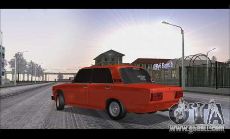 VAZ 2105 patch v3 for GTA San Andreas left view