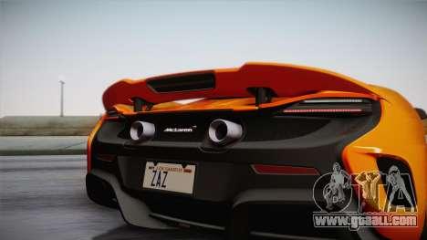 McLaren 675LT 2015 10-Spoke Wheels for GTA San Andreas right view