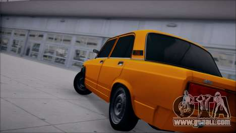 VAZ 2105 patch 1.1 for GTA San Andreas left view
