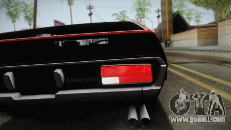 Lamborghini Espada S3 39 1972 for GTA San Andreas back view